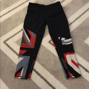 Sweaty Betty Union Jack Leggings